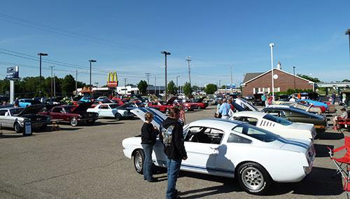West Michigan Mustang Club - Kalamazoo michigan car show